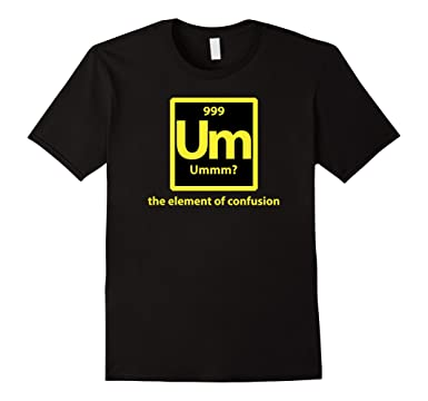 Amazon funny um periodic table element t shirt clothing mens funny um periodic table element t shirt 2xl black urtaz Image collections