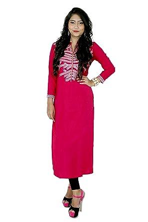 97e1fb34a5 Image Unavailable. Image not available for. Color: Indian Bollywood Kurta  Kurti Designer Women Ethnic Dress Top Tunic Pakistani ...