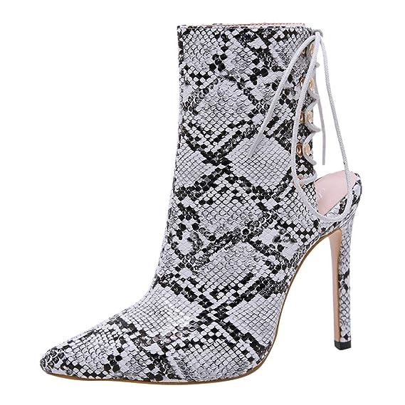 Pour Femmes À Talons Koperras Bottillons Chaussures Compensés 35LRA4j