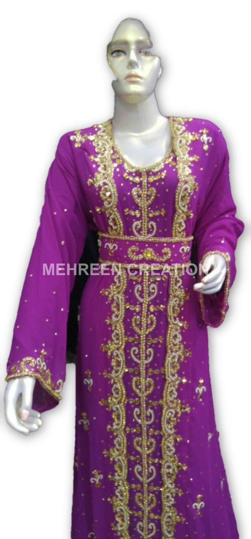 MEHREEN CREATION New Dubai Moroccan Kaftan Dress at Ramadan Special EID Festival 8001