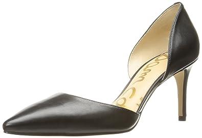Sam Edelman Women's Telsa Pump, Black Leather, ...