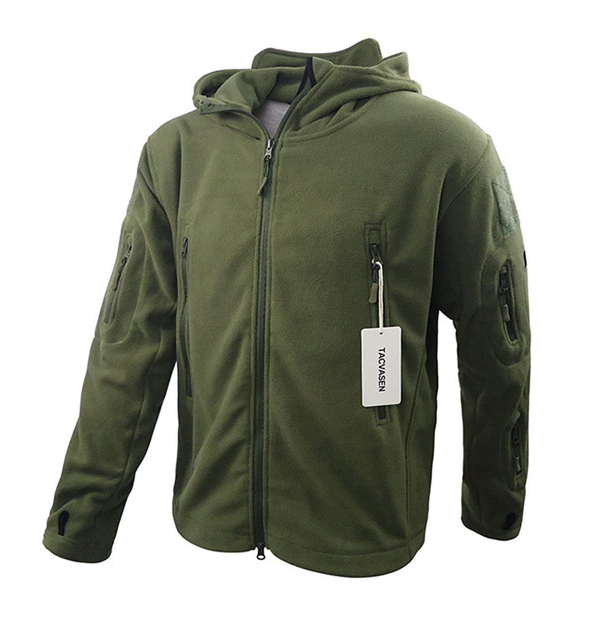 63888f2a1 TACVASEN® Men's Tactical Fleece Jacket: Amazon.ca: Clothing & Accessories
