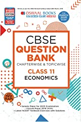 Oswaal CBSE Question Bank Class 11 Economics Chapterwise & Topicwise (For March 2020 Exam) Kindle Edition