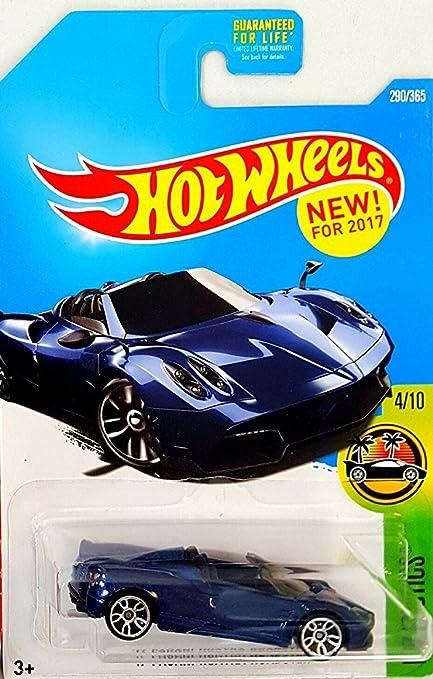 2017 Hot Wheels HW Exotics Pagani Huayra