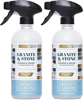Therapy Premium 16 Ounces Granite Cleaner