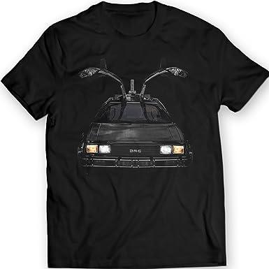 DTG Printing Delorean DMC-12 Regreso al Futuro Camiseta Idea 100% Algodón: Amazon.es: Ropa y accesorios
