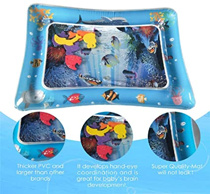 Cojín de agua inflable Koojawind, Baby Water Mat Fun ...