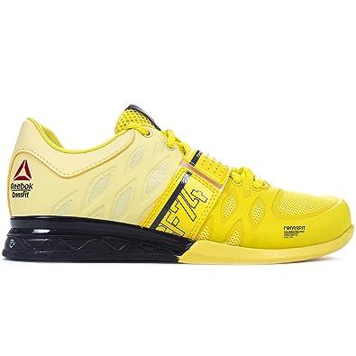 e5412aca500c4e Reebok Crossfit Lifter Plus 2.0 Womens Fitness Training Shoe Yellow - UK 6