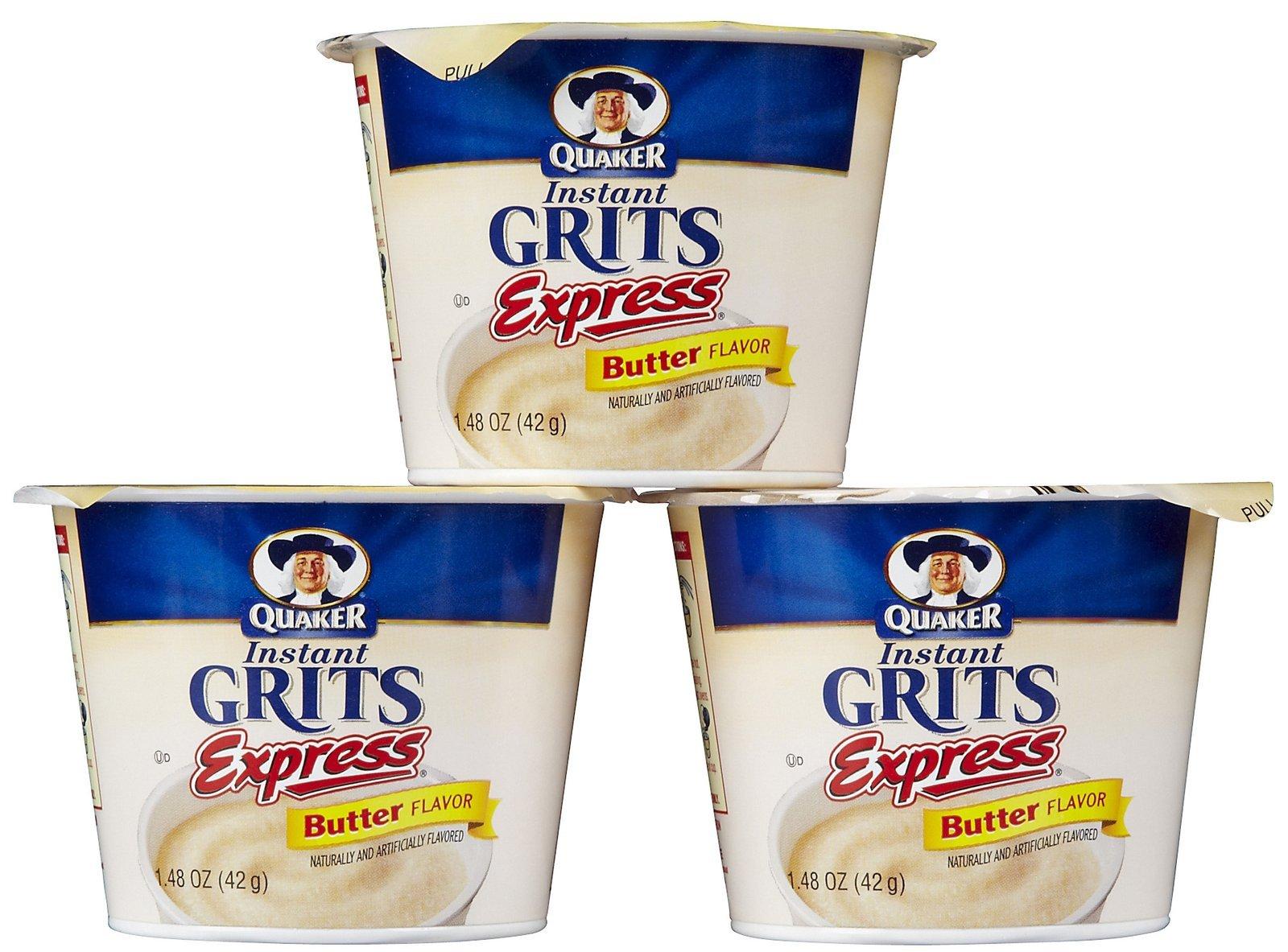 Quaker Grits Express Instant Butter Cup - 3 pk.