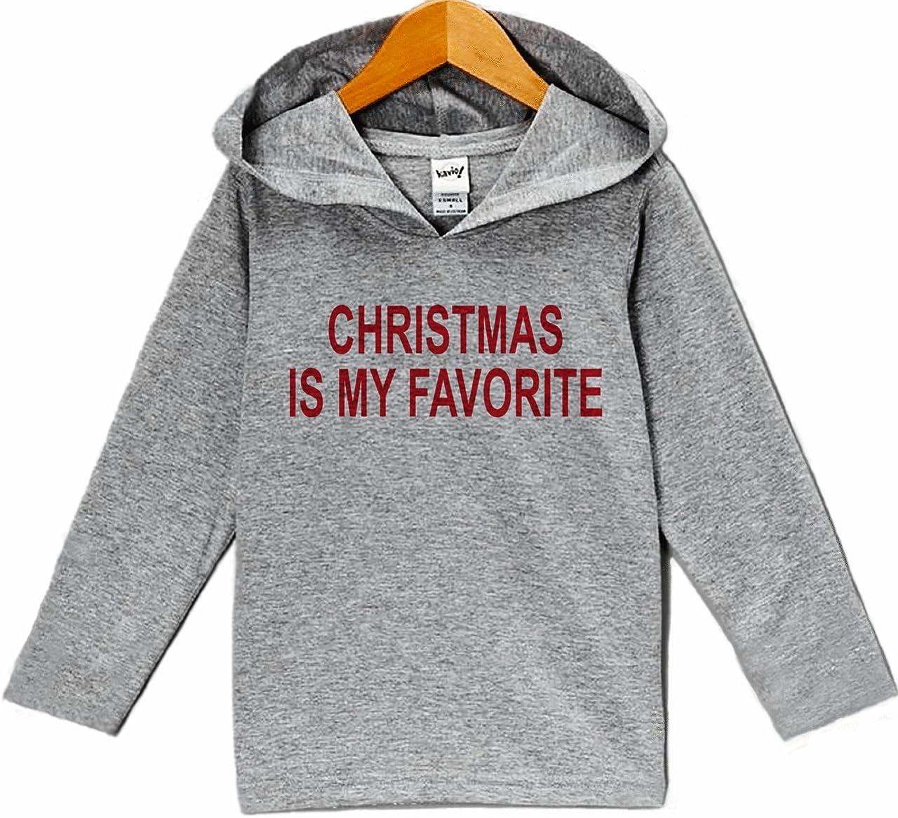 7 ate 9 Apparel Kids Christmas is My Favorite Hoodie