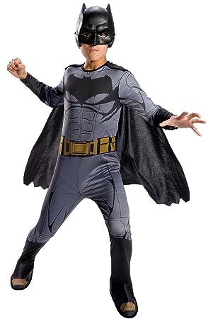 Batman - Disfraz Justice League infantil, 5-7 años (Rubies Spain 640099-M)