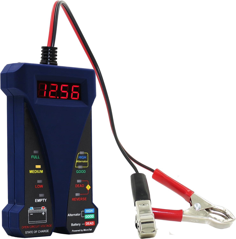 New Easy Quick Battery Alternator Tester 12V 12 Volt System LED Cars Trucks