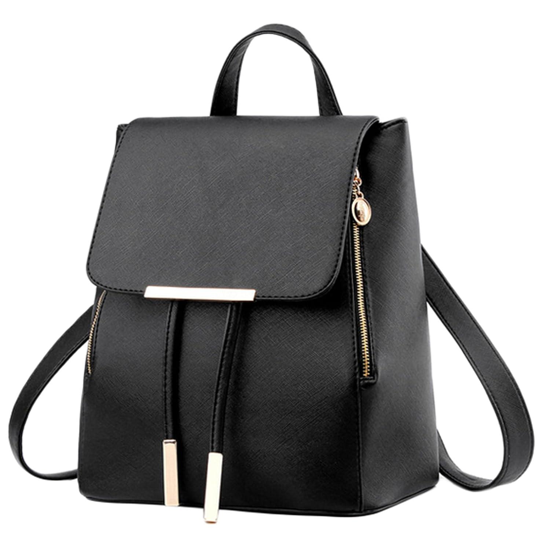 Las mujeres niñas señoras mochila Fashion piel sintética bolsa de hombro mochila bolsa de viaje