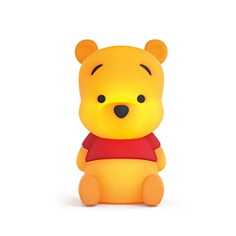 Philips Disney Winnie The Pooh - Peluche luminoso, con cargador USB, luz blanca cálida