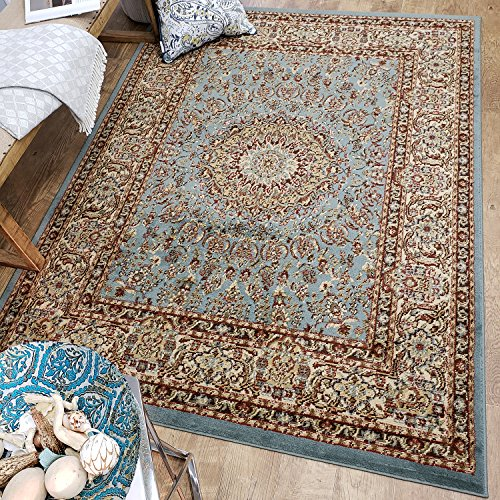 Maxy Home Pasha Traditional Medallion Multicolor 7 ft. 10 in. x 10 ft. 6 in. Area Rug