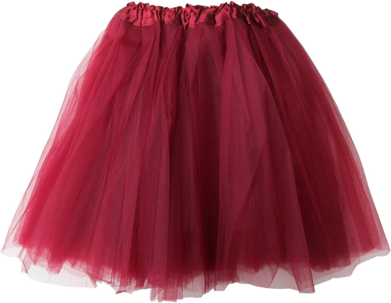 Extra Plus Size Adult Tutu XXL - Princess Costume Ballet Warrior Dash Running Skirt