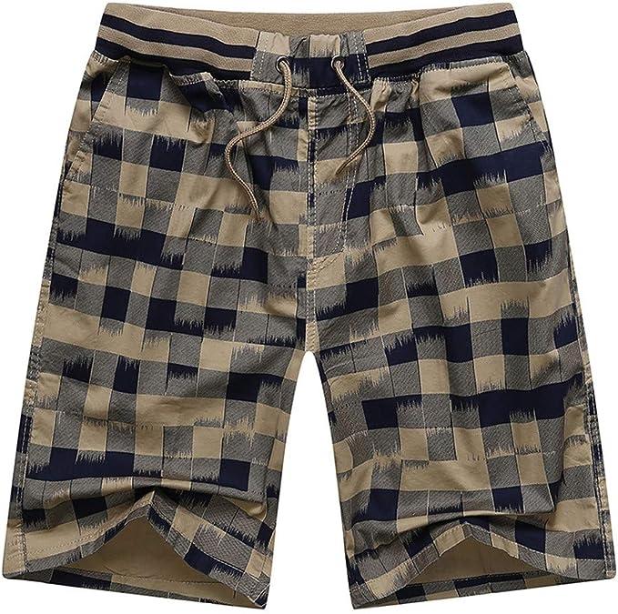 SFE Men Shorts,Men Spring Summer Print Trunks Quick Dry Beach Surfing Running Short Pant