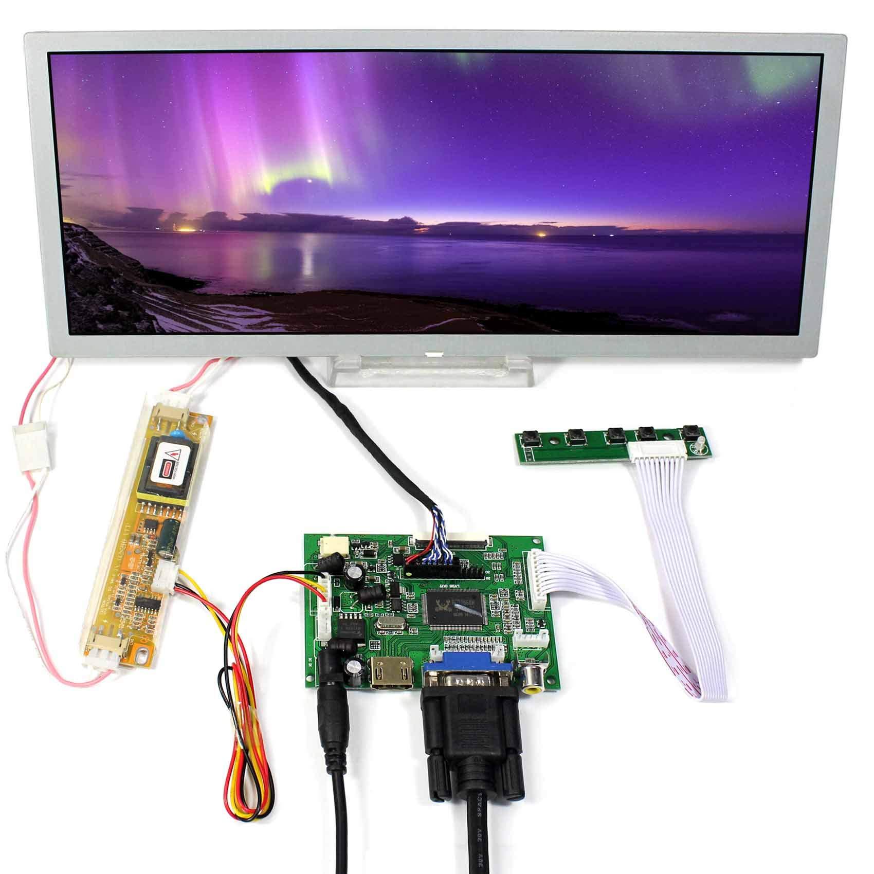 Controladora LCD HDMI VGA 12.3 1280x480 LQ123K1LG03