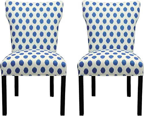 Sole Designs Bella Collection Modern Wingback Upholstered Dining Chair