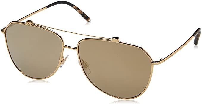 Dolce & Gabbana 0Dg2190, Gafas de sol para Mujer, Gold 59 ...