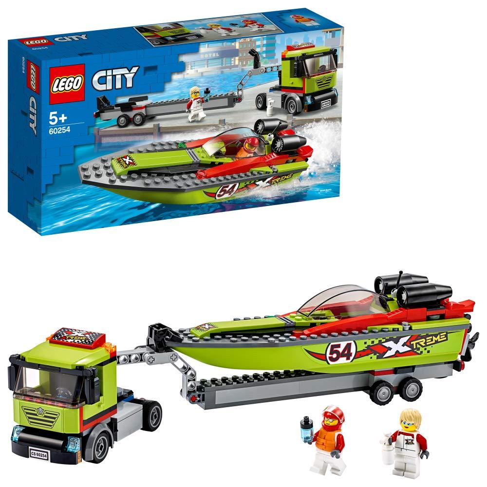 レゴ(LEGO) シティ レースボート輸送車 60254