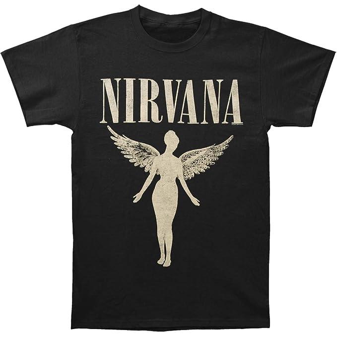 47f5a28f521c0 Amazon.com  Nirvana Men s in Utero Tour Mens Soft T Slim Fit T-Shirt ...