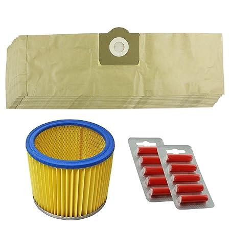 Spares2go Kit de bolsas y filtro para aspiradora Parkside ...