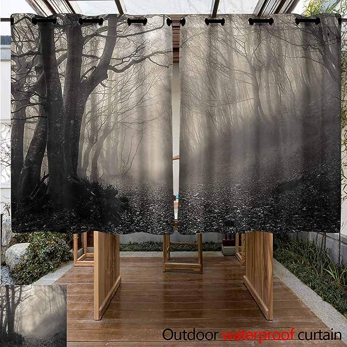 Sunnyhome - Cortinas para Ventana de salón/Dormitorio, góticas, Medievales, para Patio o Porche Frontal: Amazon.es: Jardín