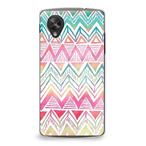 Amazon.com: Caso para Nexus 5, casesbylorraine Cute Pattern ...