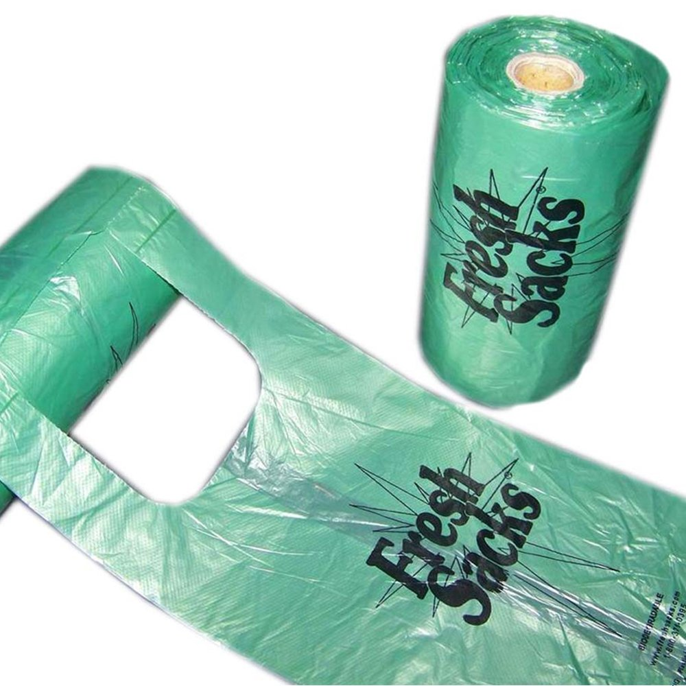 Fresh Sacks Biodegradable Diaper Disposal Bags, Roll of 250 FS250