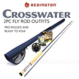 "Redington Crosswater 890-2 Fly Rod Outfit (9'0"", 8wt, 2pc)"