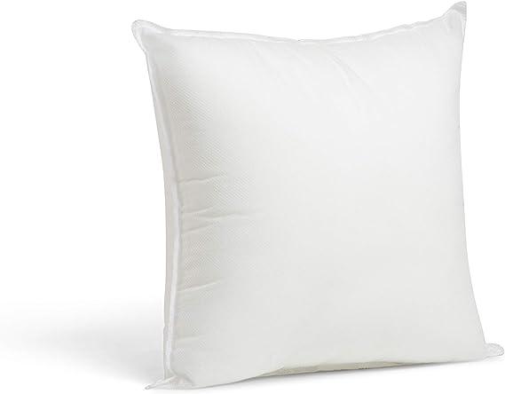Foamily Premium Hypoallergenic Stuffer Pillow Insert Sham Square Form Polyester 12 L X 12 W Standard White Home Kitche Amazon Com
