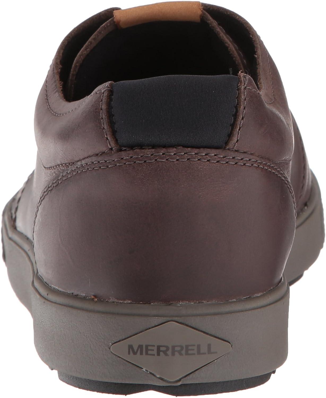 Merrell Barkley, Scarpe da Ginnastica Uomo Marrone Brunette
