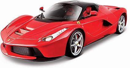 Ferrari Race and Play LaFerrari Red Bburago 16001 1//18 Scale Diecast Model Car