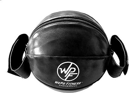 WEPO Balón medicinal para ejercicios, con núcleo de bola, para ...