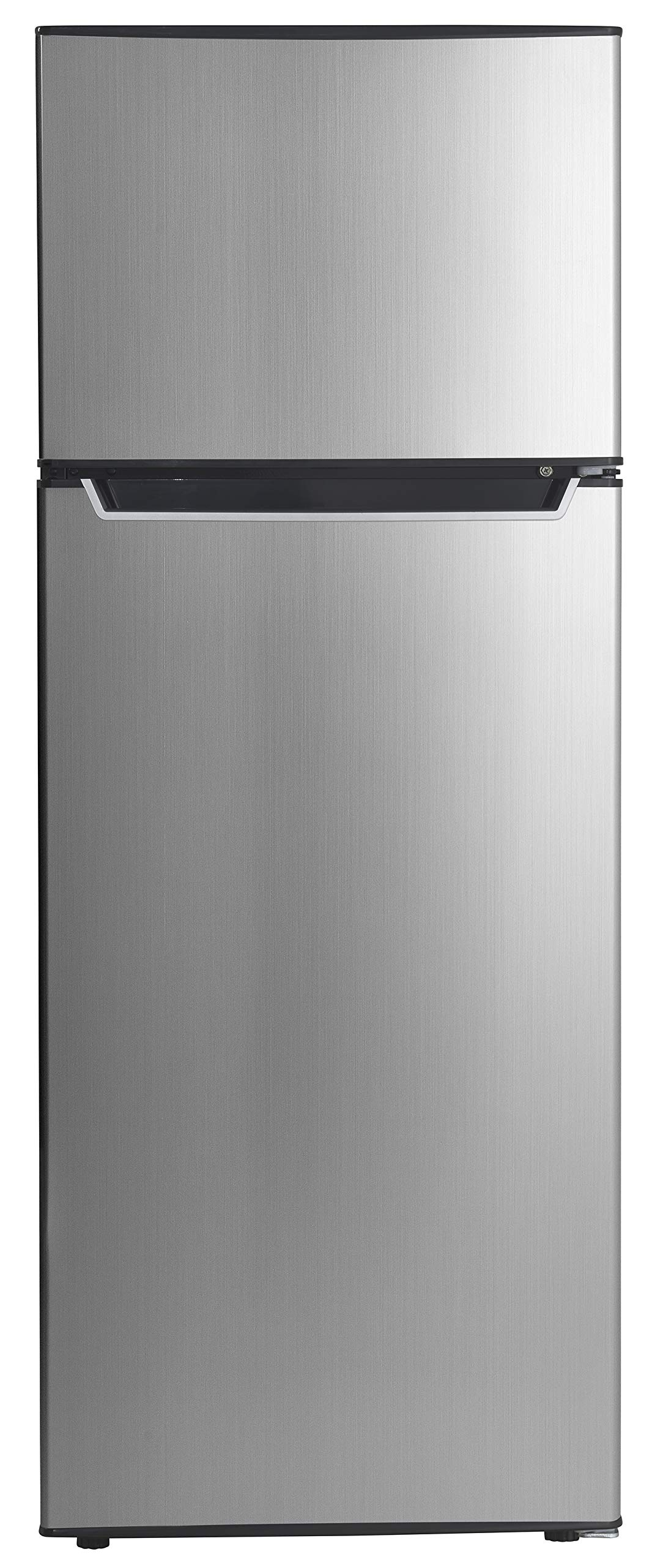 Danby Energy Star 7.3-Cu. Ft. Apartment Size Refrigerator with Top-Mount Freezer in Spotless Steel/Black by Danby