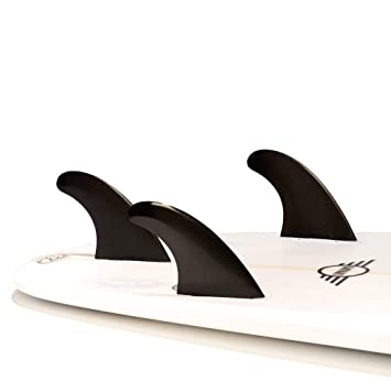 DORSAL | Surfboard Fins - Glass Filled Thruster Surf Fin Set (FCS G5 M5 Style
