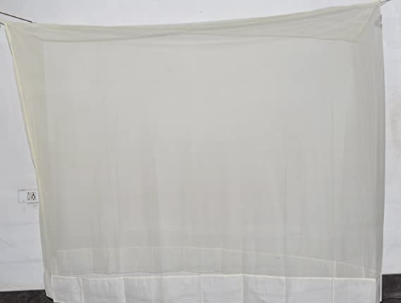 Fashion Centre Polyster Mosquito net 5*7ft, Cream