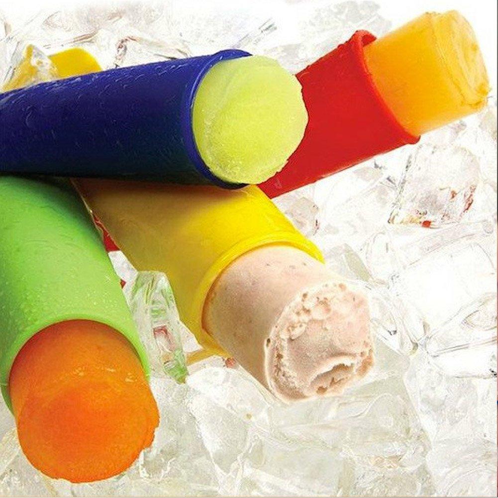 lebensmittelechtes Material Eisform f/ür Kinder und Erwachsene Joyoldelf Formen f/ür Eis am Stiel BPA-frei wiederverwendbar