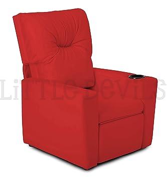MINIME Rosso-poltrona reclinable para niños, Silla, Efecto ...