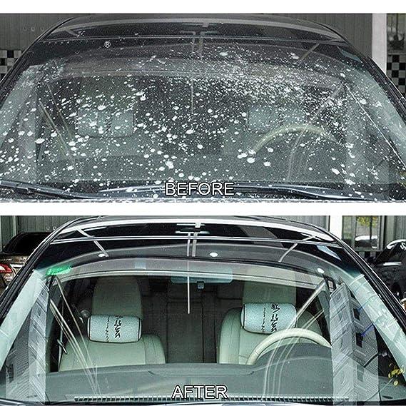 Harlls Limpiador de Vidrio de limpiaparabrisas sólido para Autos duraderos Limpiador de vidrios de Alto Rendimiento para Autos Limpiador de vidrios para ...