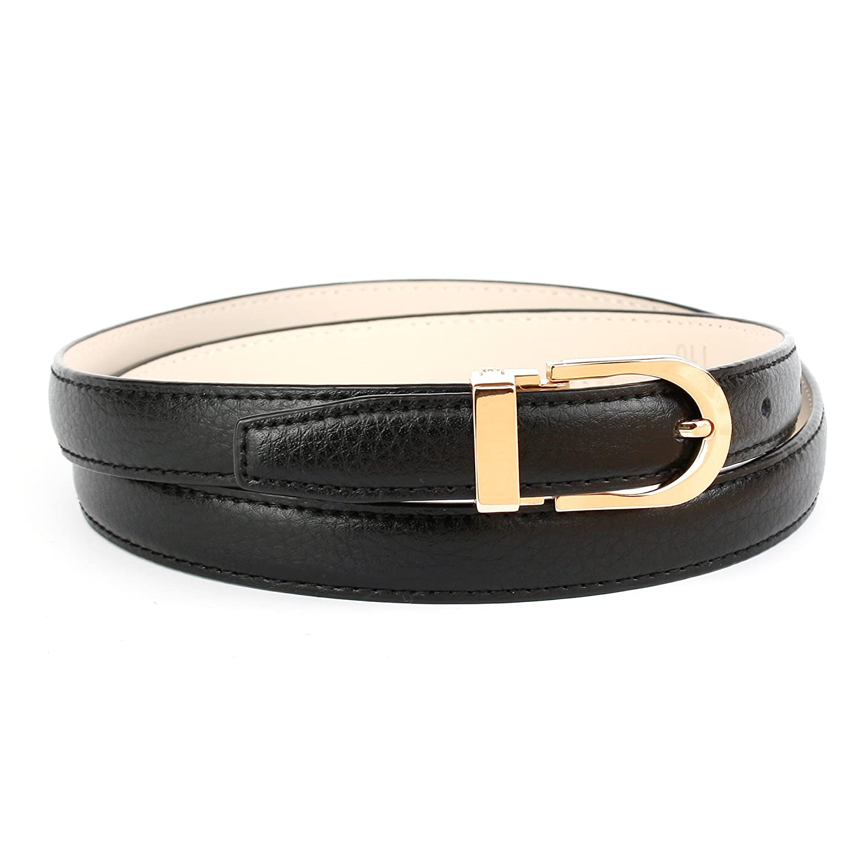 TALLA 85. Anthoni Crown Cinturón para Mujer