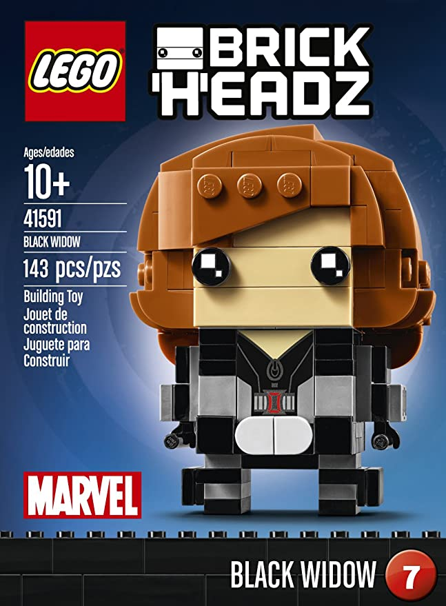 Lego 41591 Black Widow BrickHeadz