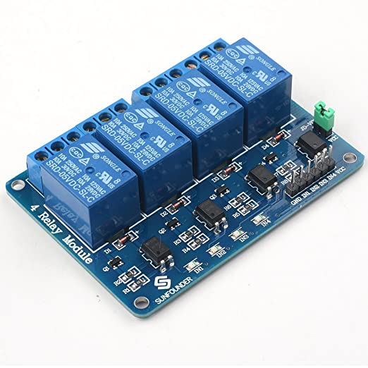 20 opinioni per SunFounder Lab Modulo 4 Relè 5V 4 Channels Relay Module for Arduino UNO 2560