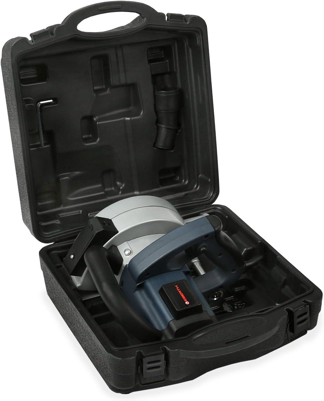 EBERTH 1700W Rozadora con maleta (2x Ø 150 mm Disco de diamante, 5 ...