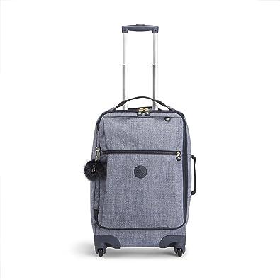 22d945fe7 Kipling Darcey Suitcase, 45 cm, 30 liters, Blue (Cotton Jeans ...