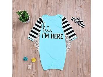 JxucTo Saco de dormir para bebés recién nacidos Mochilas para dormir Ropa de dormir de manga larga para niños de 0 a 12 meses: Amazon.es: Bebé