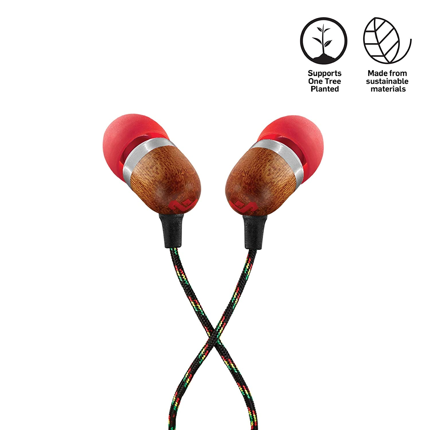 House of Marley Smile Jamaica Auriculares intrauditivos con ...