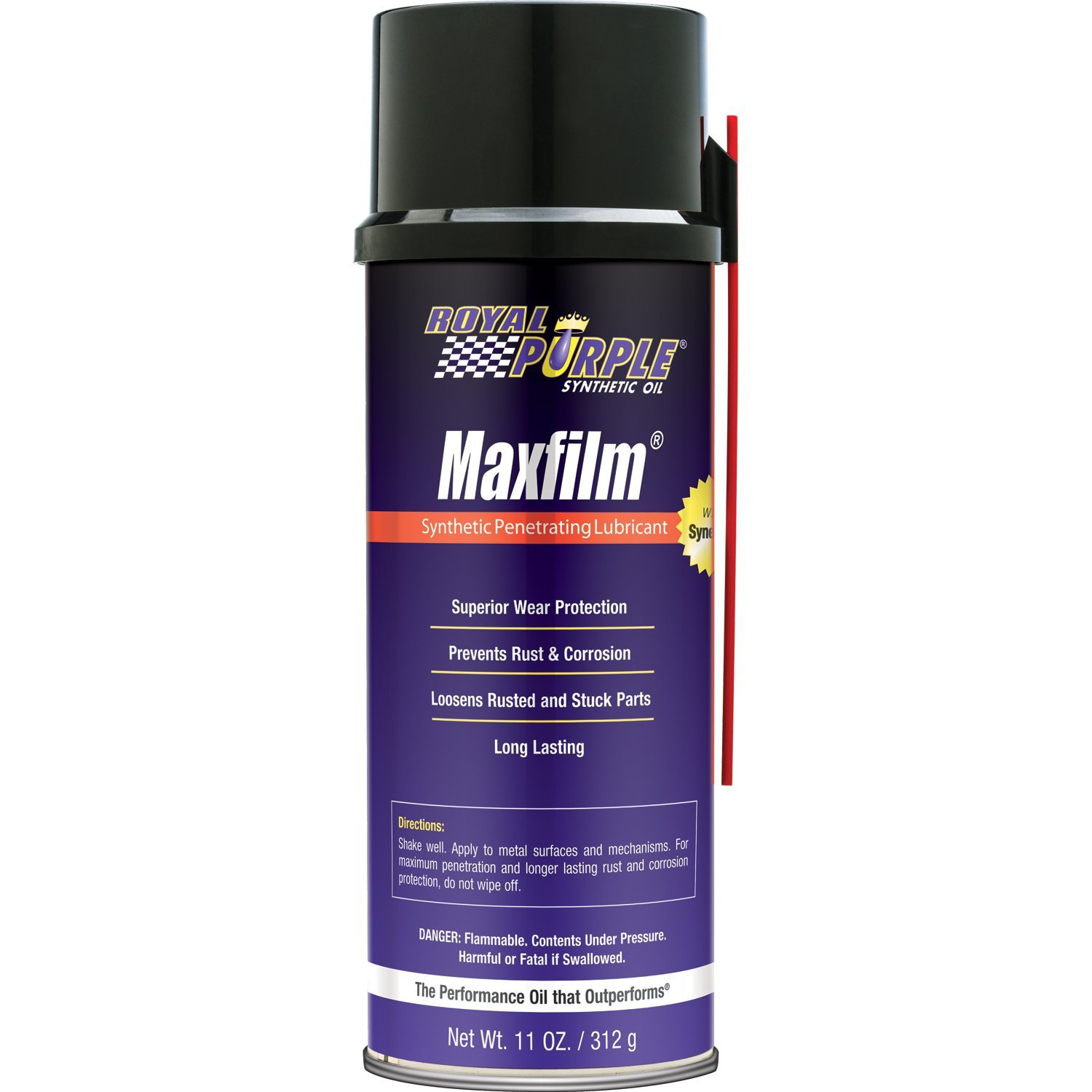 Royal Purple 15000 Maxfilm High Performance Multipurpose Synthetic Penetrating Spray Lubricant - 11 oz. (Case of 12)