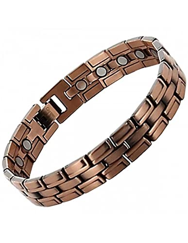 Bracelet magnetique homme cuivre